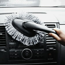 NEW Vehicle Auto Car Cleaning Wash Brush Microfiber Duster Keyboard Dusting Tool