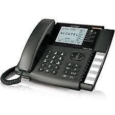 ALCATEL TEMPORIS IP800. Téléphone SIP 6 lignes, 6 comptes SIP et prise casque