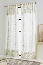 """$128  Anthropologie  Pippette Curtain new   50""""w x 84 """"L  ~ one panel"""