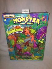Monster In My Pocket Dinosaurs 12 pack Volcano Display Matchbox Figure Toys