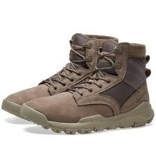 Nike SFB Special Field Boot 6'' Men Sz 10.5 NSW Leather Dark Mushroom 862507 201