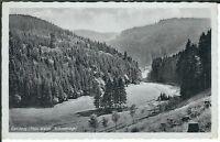 Ansichtskarte Gehlberg/Thüringer Wald - Schneetiegel - schwarz/weiß