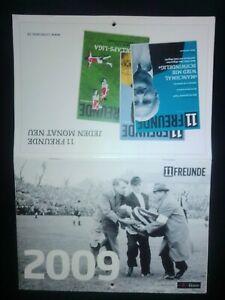 11 Freunde Kalender 2009 Sammler Rot Weiss Essen BVB S04