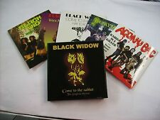 BLACK WIDOW - COME TO THE SABBAT - BOX 5 CD SINGLES LIKE NEW CONDITION