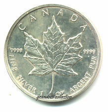CANADA 5 DOLLARS 1991 FINE SILVER MONETA ARGENTO FDC ELIZABETH II