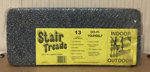 13 Step Indoor  Stair Treads Step Rug Stair 8'' x 18'' - Brand New & Sealed