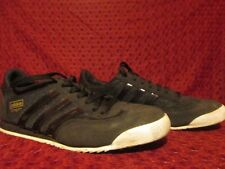 TRES RARES SNEAKERS BASKETS ADIDAS DRAGON NOIRES BLACK TAILLE 42 8UK 8.5 US