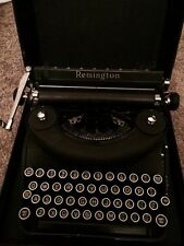 Vintage Remington Deluxe Noiseless Typewriter Original Case Nice!