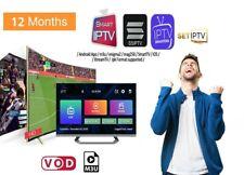 BEST SERVICE D'ABONNEMENT IP-TV 12 MOIS+70000 CHNLS & VOD SMART TV MAG Android
