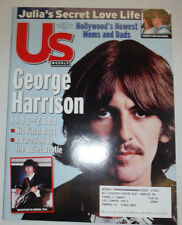 US Weekly Magazine George Harrison & Julia Roberts December 2001 032415R