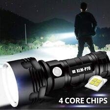 Super hell 100000lm Taschenlampe LED P70 USB Taktisches Fackel + 26650 Batterie