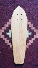 Skateboard Cruiser Deck - Solid Hardwood - Classic - skate - surf - retro