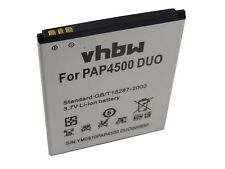 BATTERIA -VHBW- 1850mAh per Prestigio MultiPhone 4500 Duo