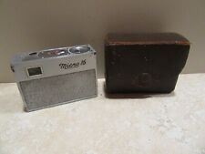 Micro 16 Camera and Case Subminiature Vintage