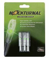 Rage Nockturnal Lighted Nocks 3-pack Model-S GREEN for Arrows Hunting Archery WL