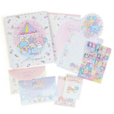 2017 Sanrio Japan Little Twin Stars Letter Set Stationery ~ NEW