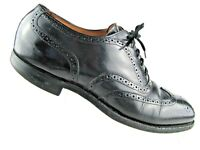 Camper Men S Twins Wing Tip Oxford Black Calfskin Size 42 M Ebay