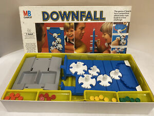Vintage Downfall MB Games Board Game 1997 - Complete (D5)