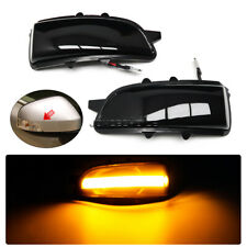 2x For Volvo S80 2007-2011  LED Dynamic Turn Signal Side Mirror Sequential Light