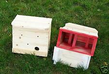 Wren,Titmouse.Nuthatch.Ch ickadee.1=Roosting Box.Shelter.Built By U.S.A. Veterans