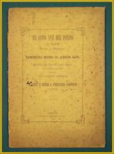 Saffi CANTO XXVI INFERNO DANTE 1882 Genova