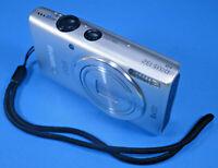 Canon IXUS132 Silber 16MP 8xZoom +Zubehörpaket 8GB-SD-Karte Hardcase - ME3