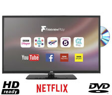 "JVC LT-32C675 32"" HD Ready LED Smart TV Built in DVD Player Freeview HD Black"