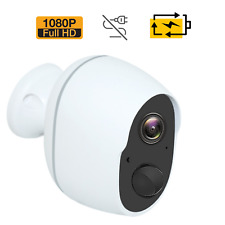 1080P Wireless Security Camera Indoor Outdoor Rechargeable Battery Powered WiFi