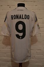 Real Madrid 2009/2010 Home Football Soccer Shirt Jersey Camiseta #9 Ronaldo