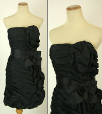 NEW Jovani Size 4 Black Cruise Gown Evening Prom Formal Strapless $320 Short