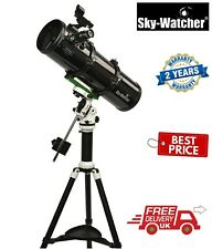 SkyWatcher Explorer-130PS ALT-AZ/EQ Parabolic Newtonian Ref Telescope (UK Stock)