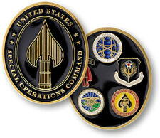 NEW U.S. Special Operations Command Challenge Coin.