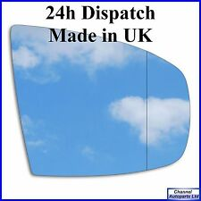 Right hand driver off side wide angle mirror glass BMW X5 E70 2006 - 2013 282RAS