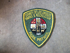 vintage Los Angeles County Parks & Recreation Park California CA police patch 2