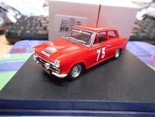 Ford cortina MKI 1 Monte Carlo rally 1966 #75 Clark Trofeu 1:43