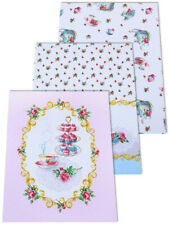 Kitchen Towels Set of 3 Made Russia Cotton Dish Tea Towels French Pastry Style