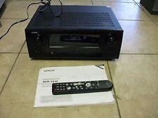 AS-IS Denon AVR-1910 Channel Home Theater Receiver Multi-Zone1080p HDMI Surround
