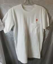 CHROME HEARTS W/ POCKET T-SHIRT WHITE , SMALL Men, pre-owned #748