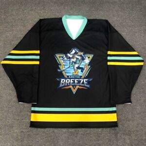 Fart ice inline funny novelty reversible practice hockey jersey beer league
