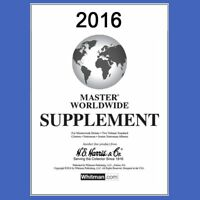 2016 H E Harris Master Worldwide Supplement for Statesman and Other Albums
