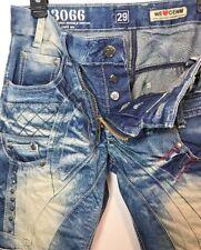 Japrag Jeans Mens Size W29 L30 JP3066 Okishana Samoki Designer Denim