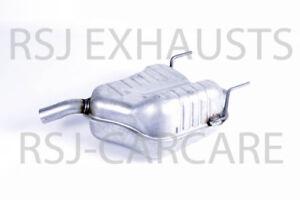 EXHAUST SILENCER VAUXHALL VECTRA Mk II (C) (Z02) 1.8 16V  2002-04-> 2008-07