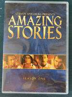Amazing Stories -The Complete First Season (DVD, 4 disc set 2018)