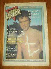 RECORD MIRROR NOVEMBER 28 1981 SOFT CELL MADNESS SPANDAU BALLET POLICE UFO