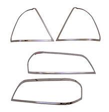 Chrome Headlights/Tail Lights Trim for 94-00 Mercedes W202 C220 C280 C230 C36