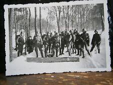 Photo argentique guerre 39 45 soldat Allemand wehrmacht WWII 2 front Russe