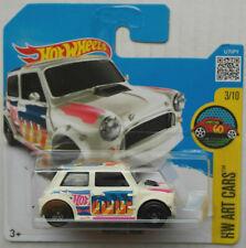 Hot Wheels Morris Mini creme HW Art Cars Neu/OVP Auto Car Mattel Oldtimer PKW