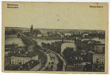 Nowy-Zjazd, Warsaw/Warszawa, Poland, 1918 via German Fieldpost to Germany