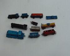 Barclay, Midgetoy, Lone Star(Treble) trains, lot of 9.