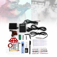 Machine Gun Power Needles Ink Set Complete Tattoo Equipment Kit